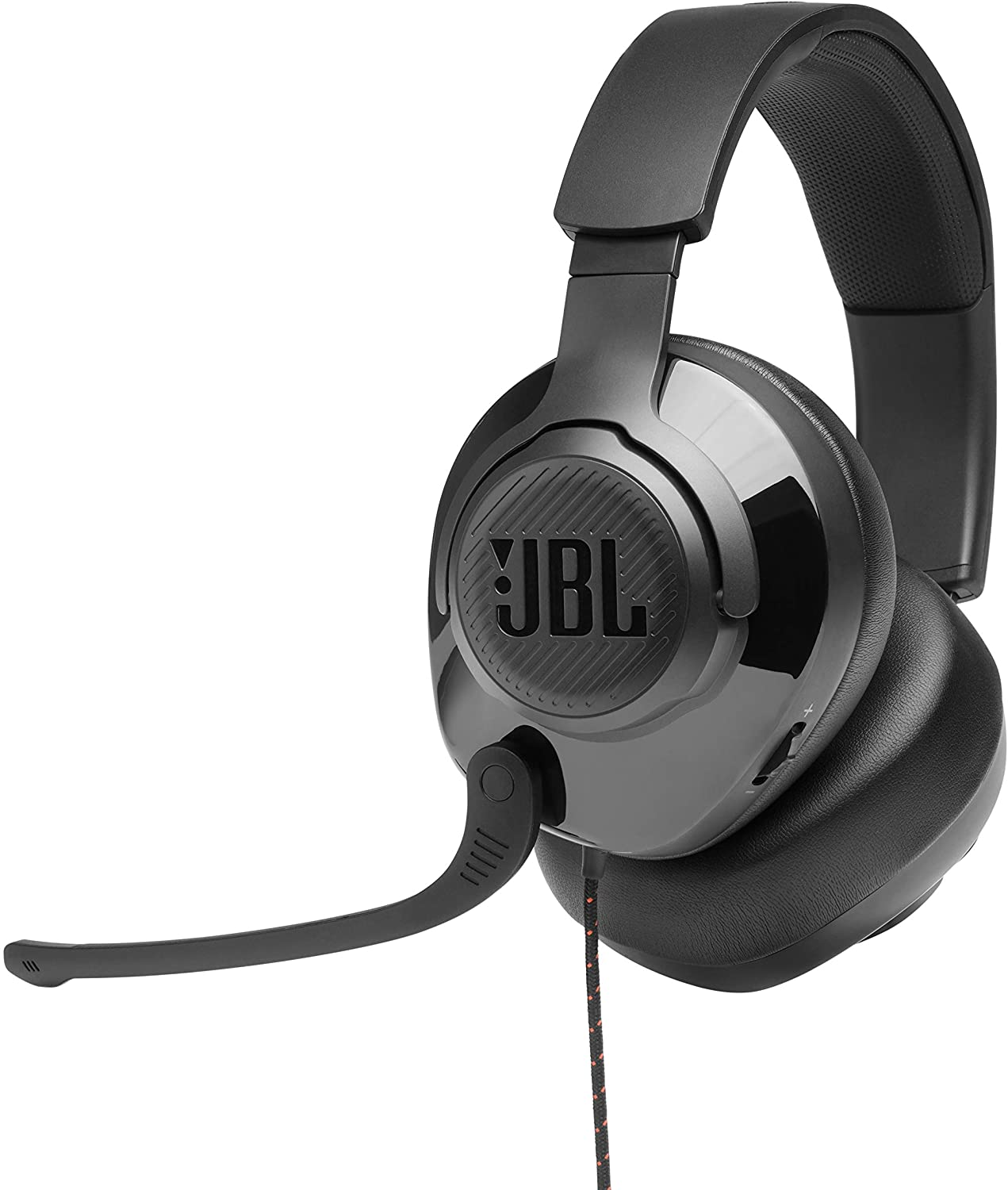 JBL Quantum 300, Over-Ear Wired Gaming Headset, Surround (Black)