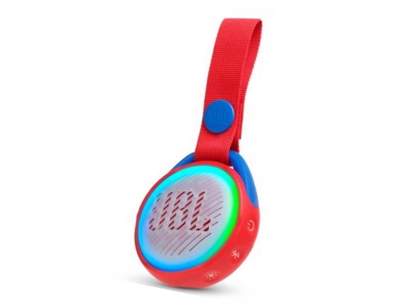 JBL POP, portable wireless speaker with light (red)