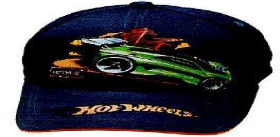 DISNEY HAT HOT WHEELS DARK BLUE/ORANGE