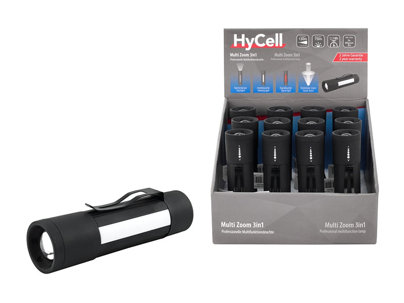 ANSMANN HYCELL  Multi LED 3 in 1 Torch - NEW,Torches