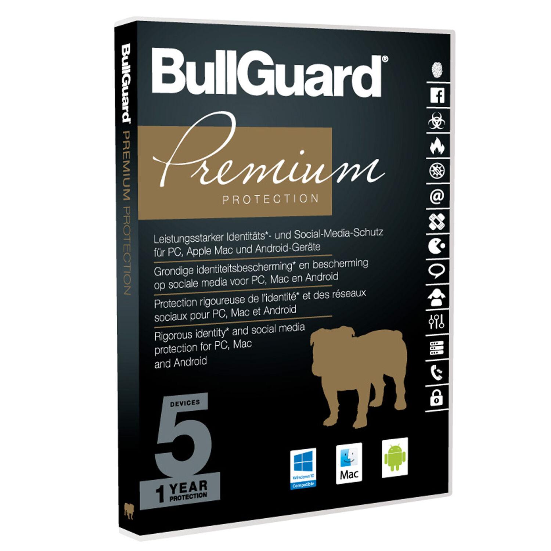 BullGuard Internet Security Premium - 1YR / 5 Devices DVD BOX