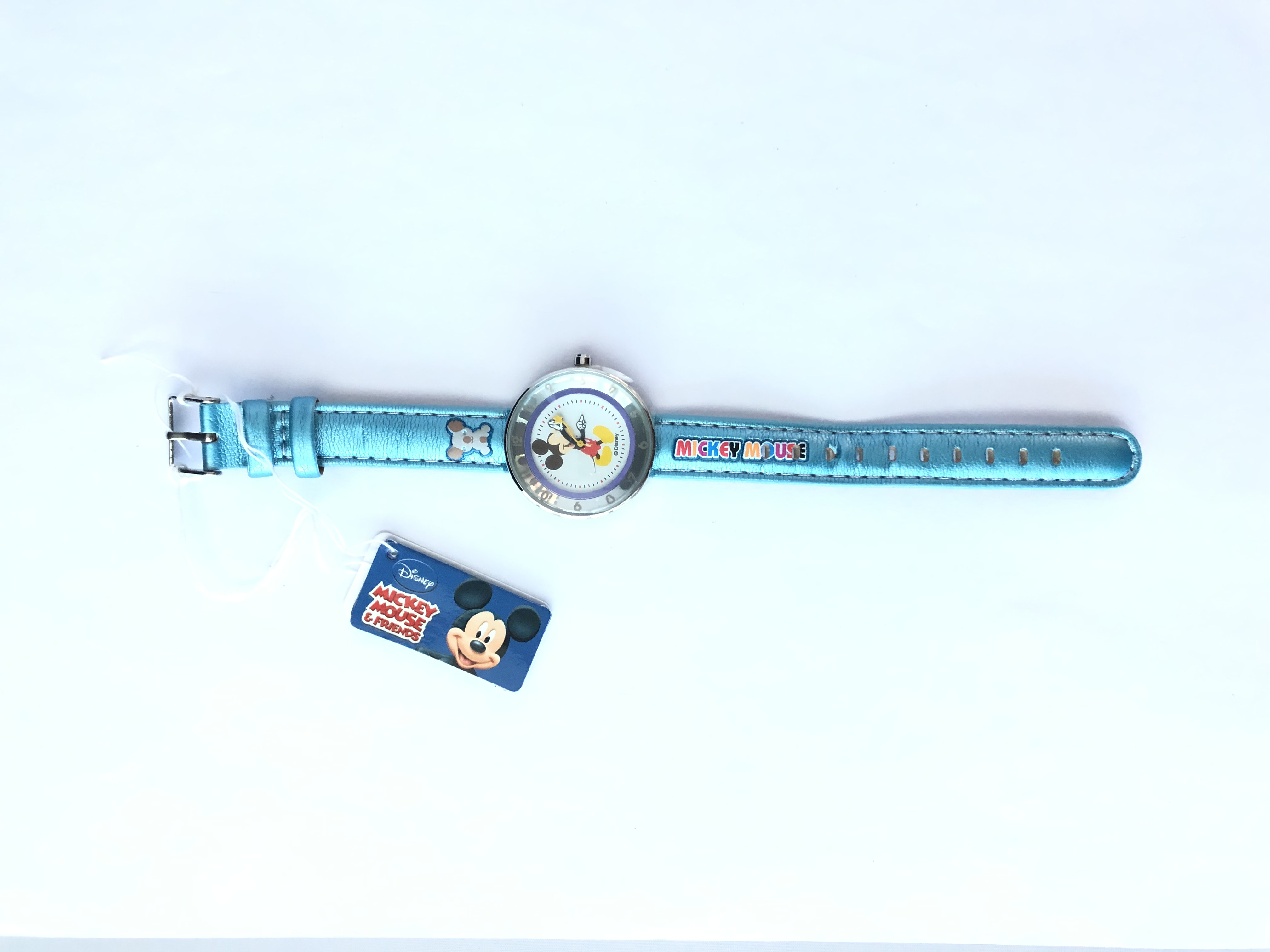 DISNEY WATCH MICKEY  WALT DISNEY  PREMIUM BLUE