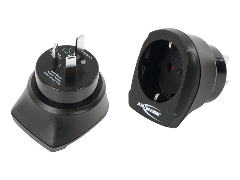 ANSMANN Travel Plug - EU to AU,Travel Power,Travel Adaptors & Accessories