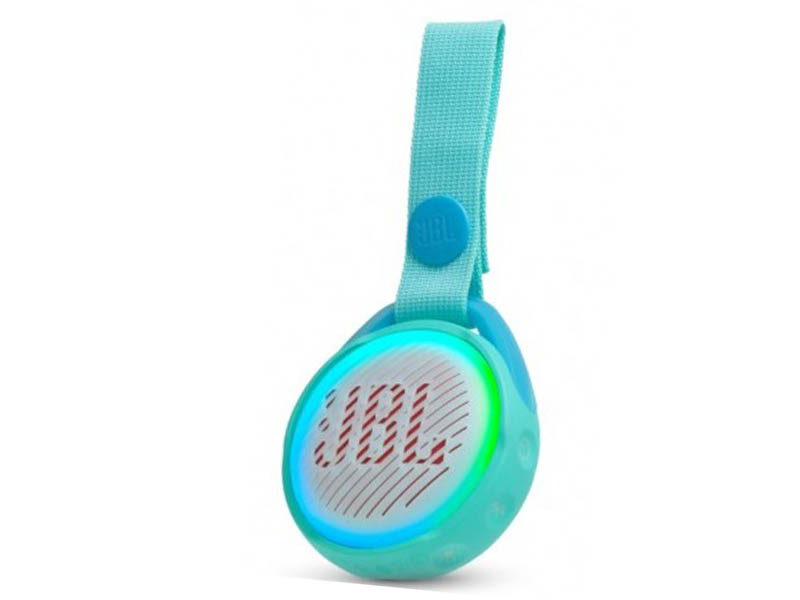 JBL POP, portable wireless speaker with light (teal)