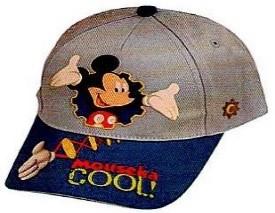 DISNEY HAT MICKEY MOUSEKA COOL BLUE