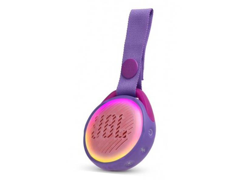 JBL POP, portable wireless speaker with light (purple)