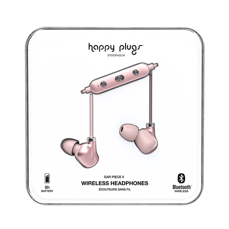 Happy Plugs Wireless II - Pink Gold