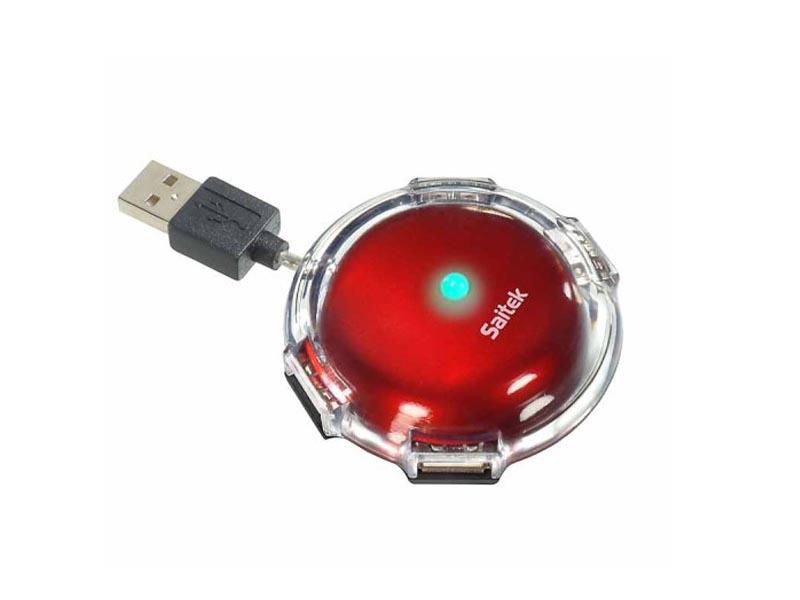 SAITEK UFO HUP METTALIC RED
