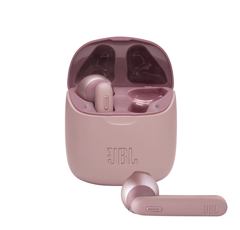 JBL Tune 225TWS, True Wireless Ear-Buds Headphones, (Pink)