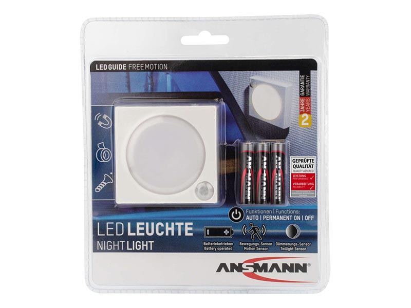 ANSMANN LED Nightlight - Free Motion , ANSMANN Lighting, Aqualight & Nightlights