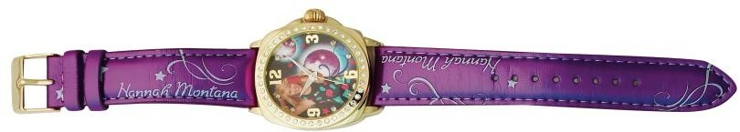 DISNEY WATCH ANALOG 4U HANNAH MONTANA MOON