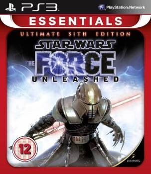 PS3 Star Wars The Force Unleashed Sith Edition ESSENTIAL