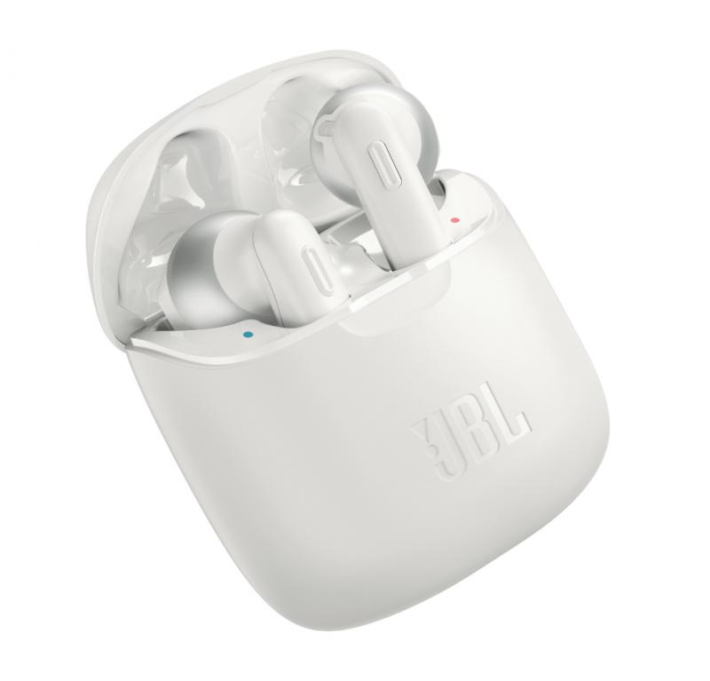 JBL Tune 220TWS True Wireless Ear-Buds Headphones (White)