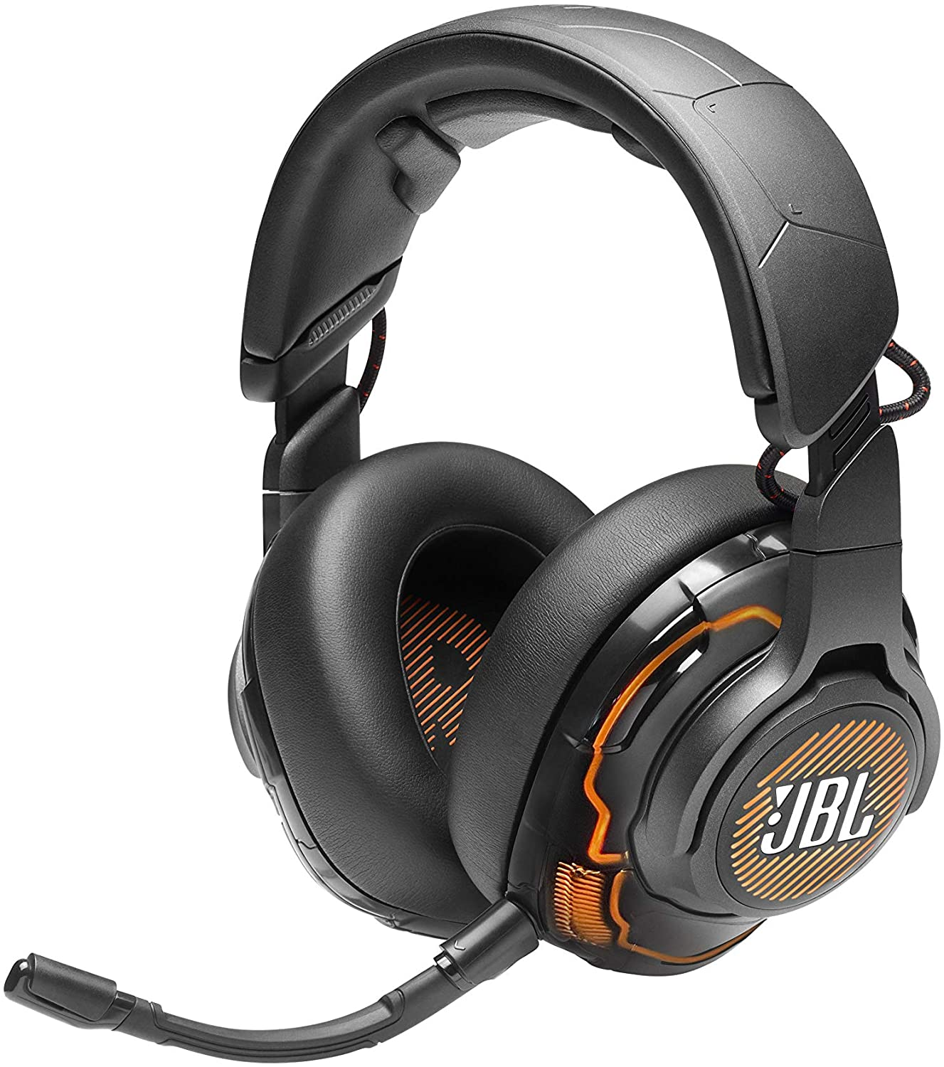JBL Quantum ONE, Over-Ear Wired Pro Gaming Headset, Head-Tracking 360, ANC