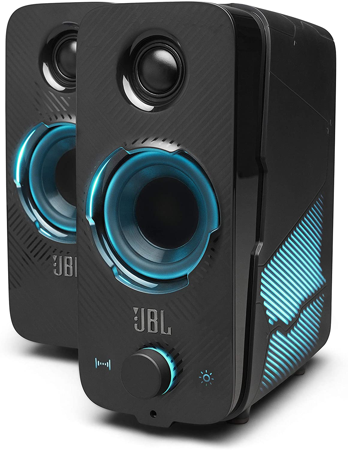 JBL Quantum DUO, Gaming Speaker 2.0, Bluetooth, lighting control