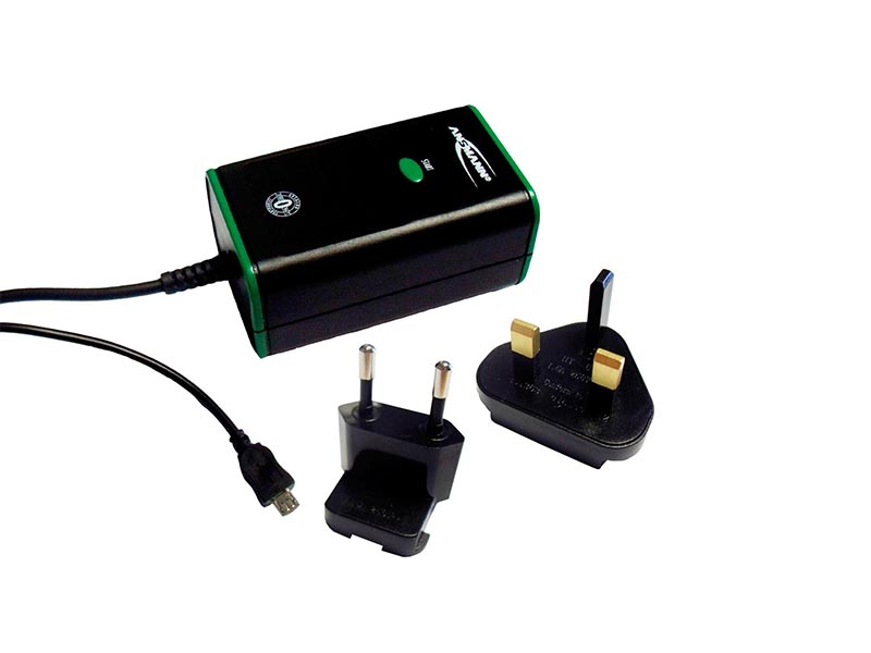 ANSMANN Travelcharger Micro USB Zero WattUK / EU - Whilst Stocks Last,Travel Power,USB Mains Power