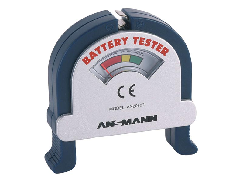 ANSMANN Battery Tester, Battery Accessories,Battery Testers