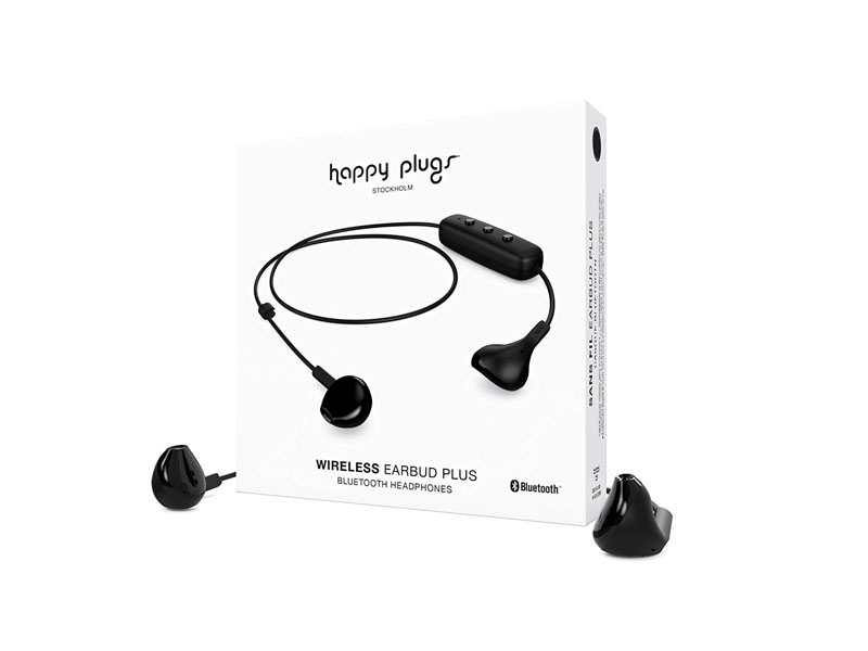 Happy Plugs Earbud Plus Wireless Black