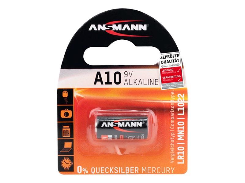 ANSMANN A10,Non - Rechargeable Batteries,Alkaline Cells in Blister Packs