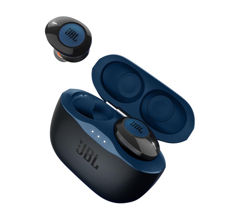 JBL Tune120TWS True Wireless In-Ear Headphones (Blue)