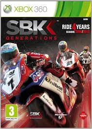 XBOX360  SBK GENERATIONS